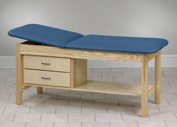 Straight Line Treatment Table w/Drawers