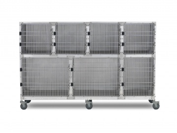 Shor-line 8' Assembly, Stainless Steel Cages