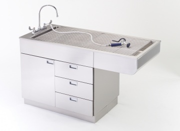 Shor-line All Stainless Tub Table