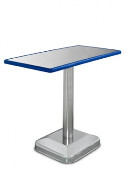 BLUE-LINE PEDESTAL BASE EXAM TABLE