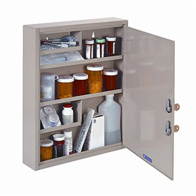 Single Door Double Lock Narcotic Safe - Economy