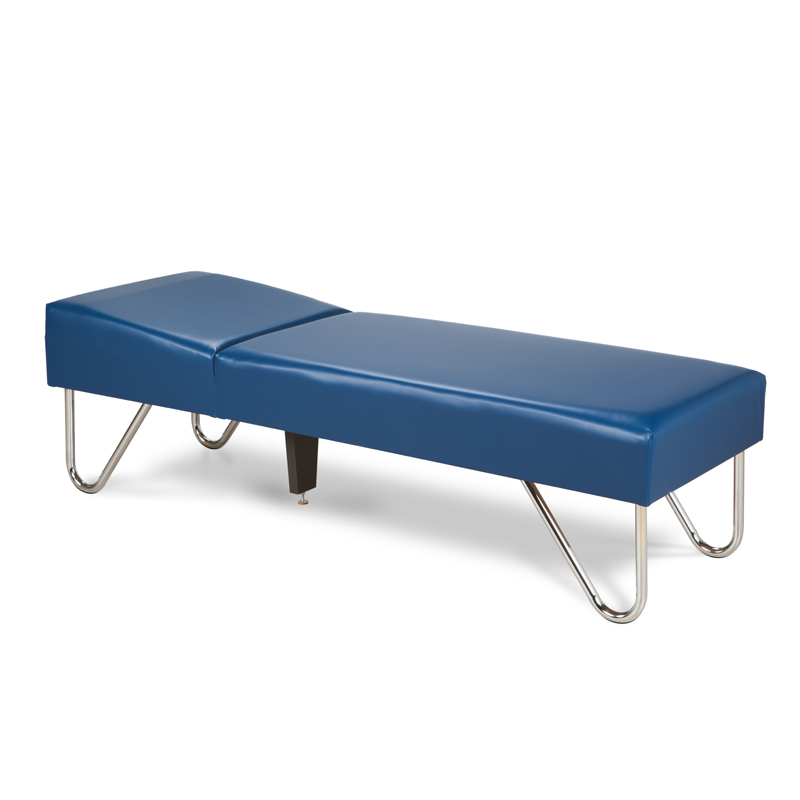 Chrome Leg Recovery Couch