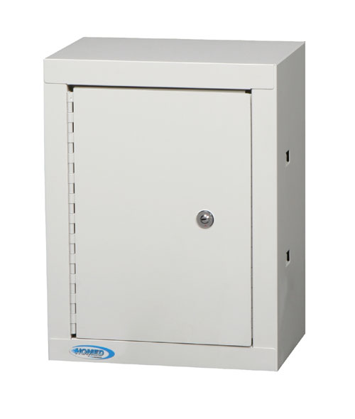 Double Door, Double Lock Narcotic Cabinet