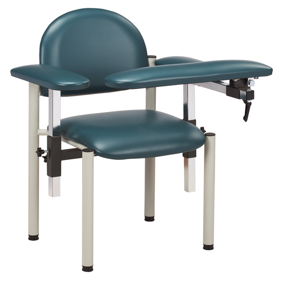 Padded Blood Drawing Chair with Padded Arms