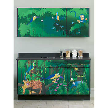"""Rainforest Follies"" Cabinets"