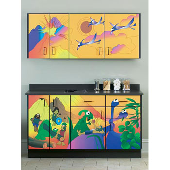 """Dino Days"" Cabinets"