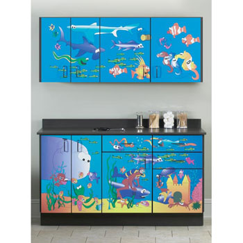 """Ocean Commotion"" Cabinets"