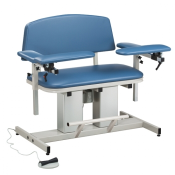 Bariatric Power Blood Drawing Chair with Padded Arms