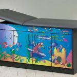 """Ocean Commotion"" Pediatric Treatment Table"