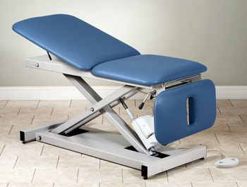 Power Table with Adjustable Backrest & Drop Section