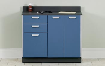 Base Exam Cabinet with 3 Doors and 2 Drawers