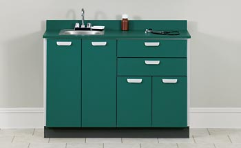 Base Cabinet with 4 Doors and 2 Drawers