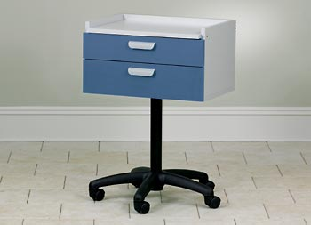Laminate Top Mobile Treatment Cabinet