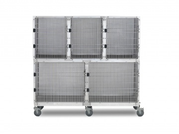 Shor-line 6' Assembly, Stainless Steel Cages
