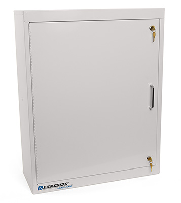 Single Door, Double Lock Narcotic Cabinet