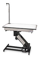 MASTERLIFT electric grooming table-lighted fixed top