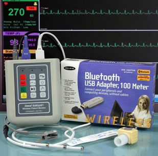 Vmed Bluetooth Wireless Veterinary Monitors