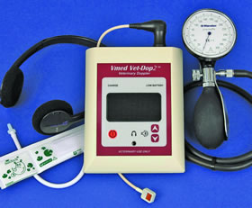 VET-DOP2 ULTRASONIC DOPPLER ANIMAL BLOOD PRESSURE SYSTEM