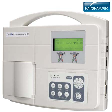 CardEX™ 100 Veterinary Diagnostic ECG