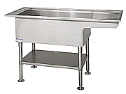 BI-LEVEL ALL STAINLESS WET TABLE