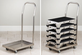 Stainless Steel Transport Cart