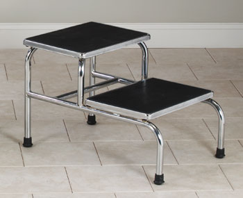 Bariatric Two-Step Step Stool