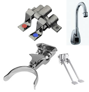 Foot Valves, Knee Valves & IF Faucets